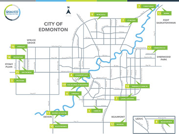 Edmonton Community Map